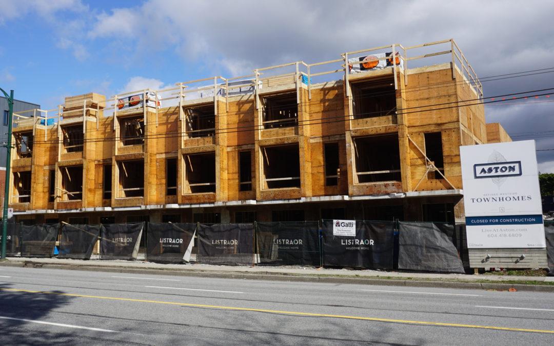 Aston Construction Update